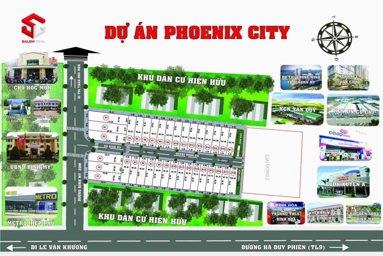 Giới thiệu sơ lượt về Dự Án Phoenix City Bình Mỹ