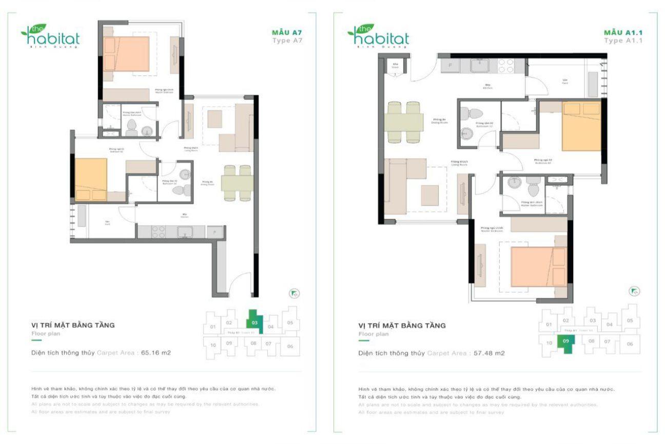 Thiết kế chi tiết nhà phố The Habitat Bình Dương