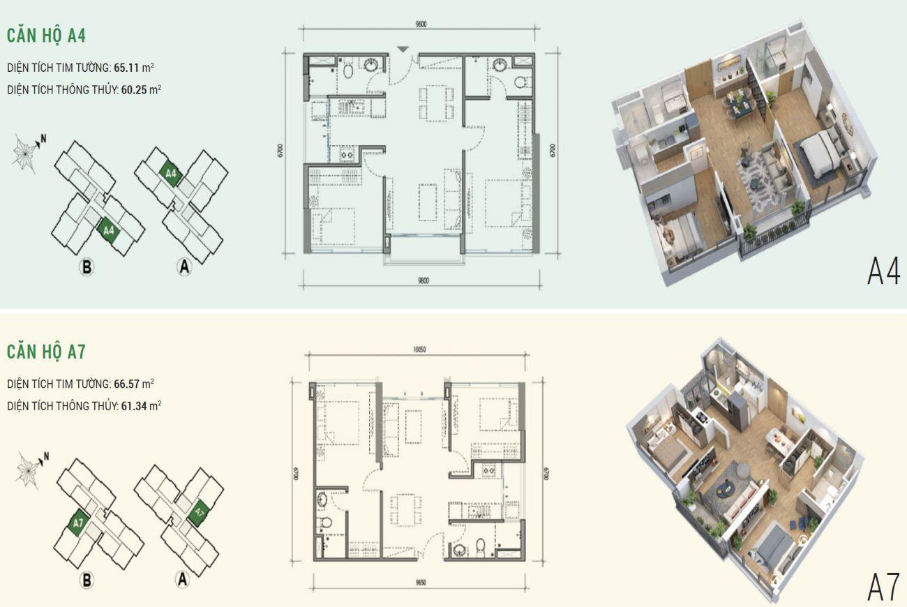 Thiết kế chi tiết nhà phố Eco Green Quận 7