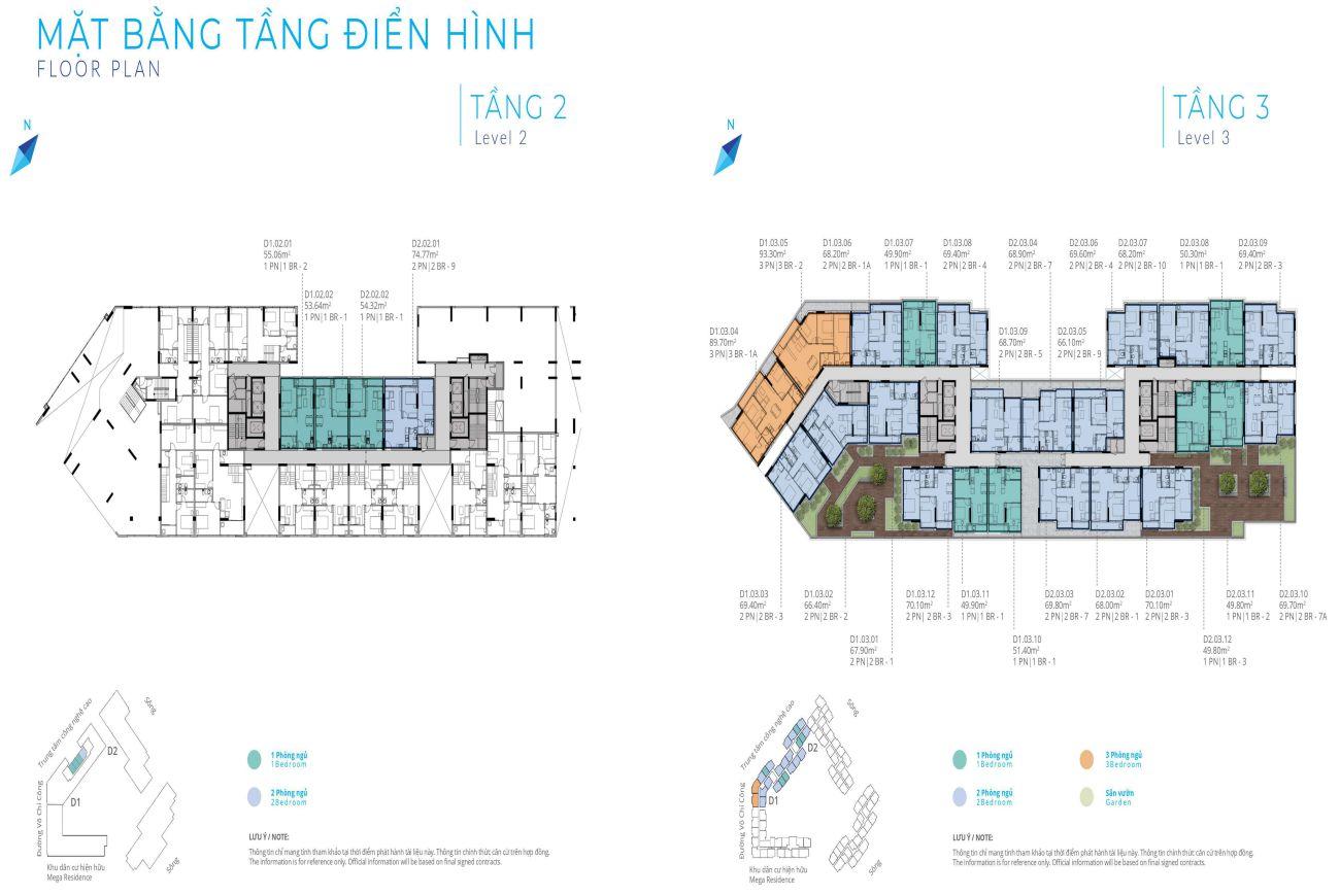 Thiết kế chi tiết Sapphire Phú Hữu Khang Điền