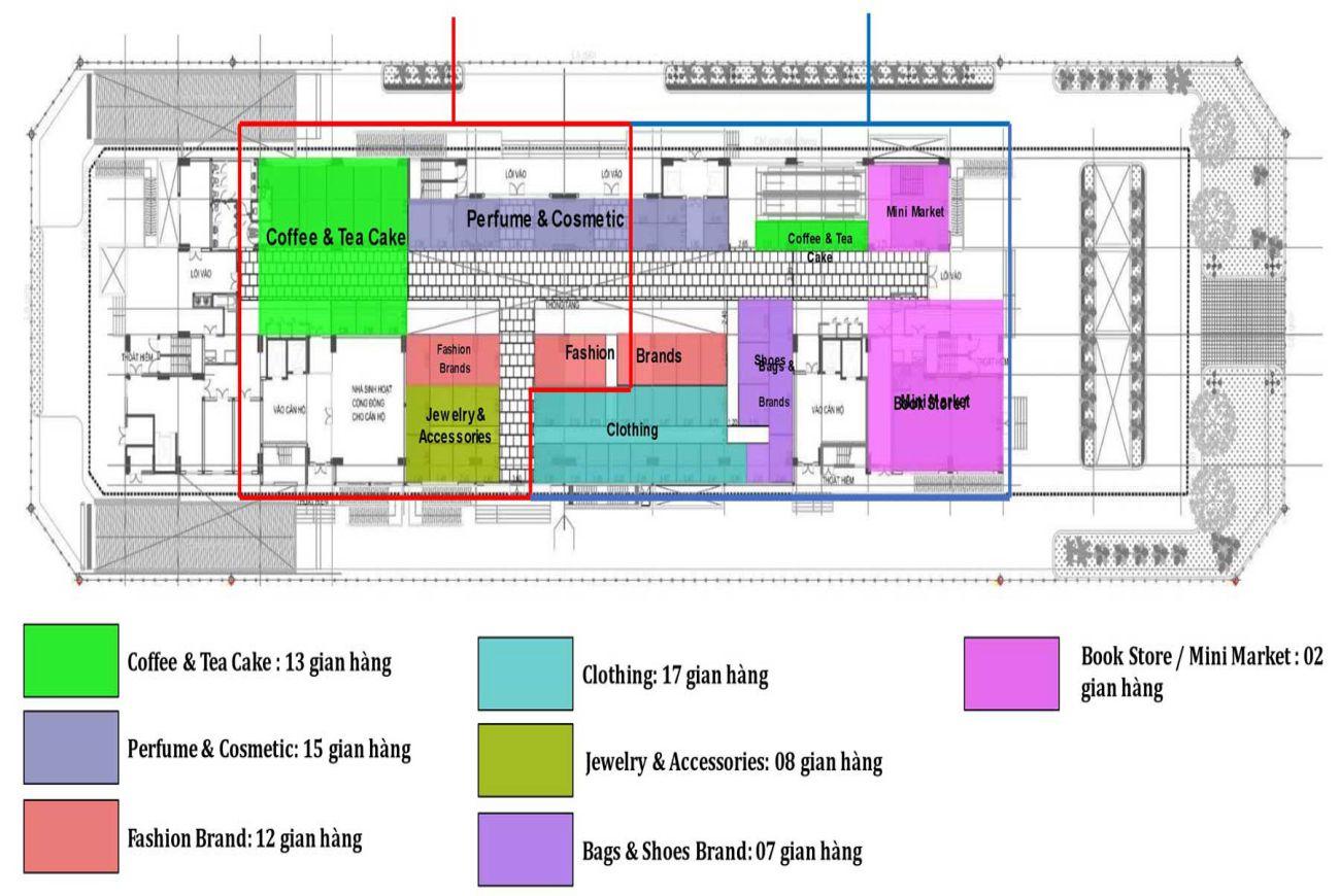 Thiết kế chi tiết Saigon Metro Mall Quận 8