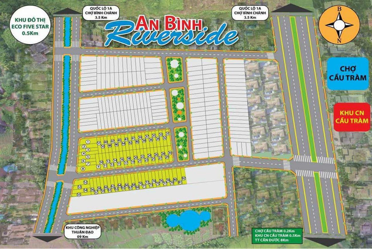 Quy mô và thông tin chi tiết về Dự án Nhà Phố An Bình Riverside