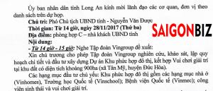 vingroup long an