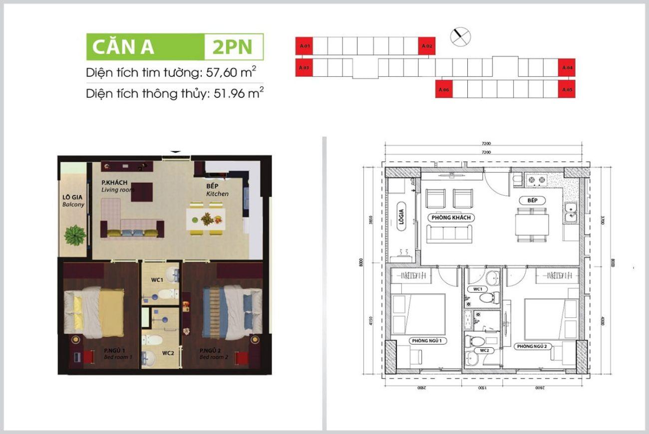 Thiết kế chi tiết Bcons Suối Tiên