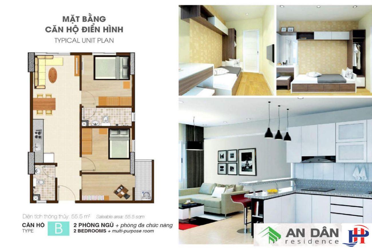 Thiết kế chi tiết nhà phố An Dân Residence Thủ Đức
