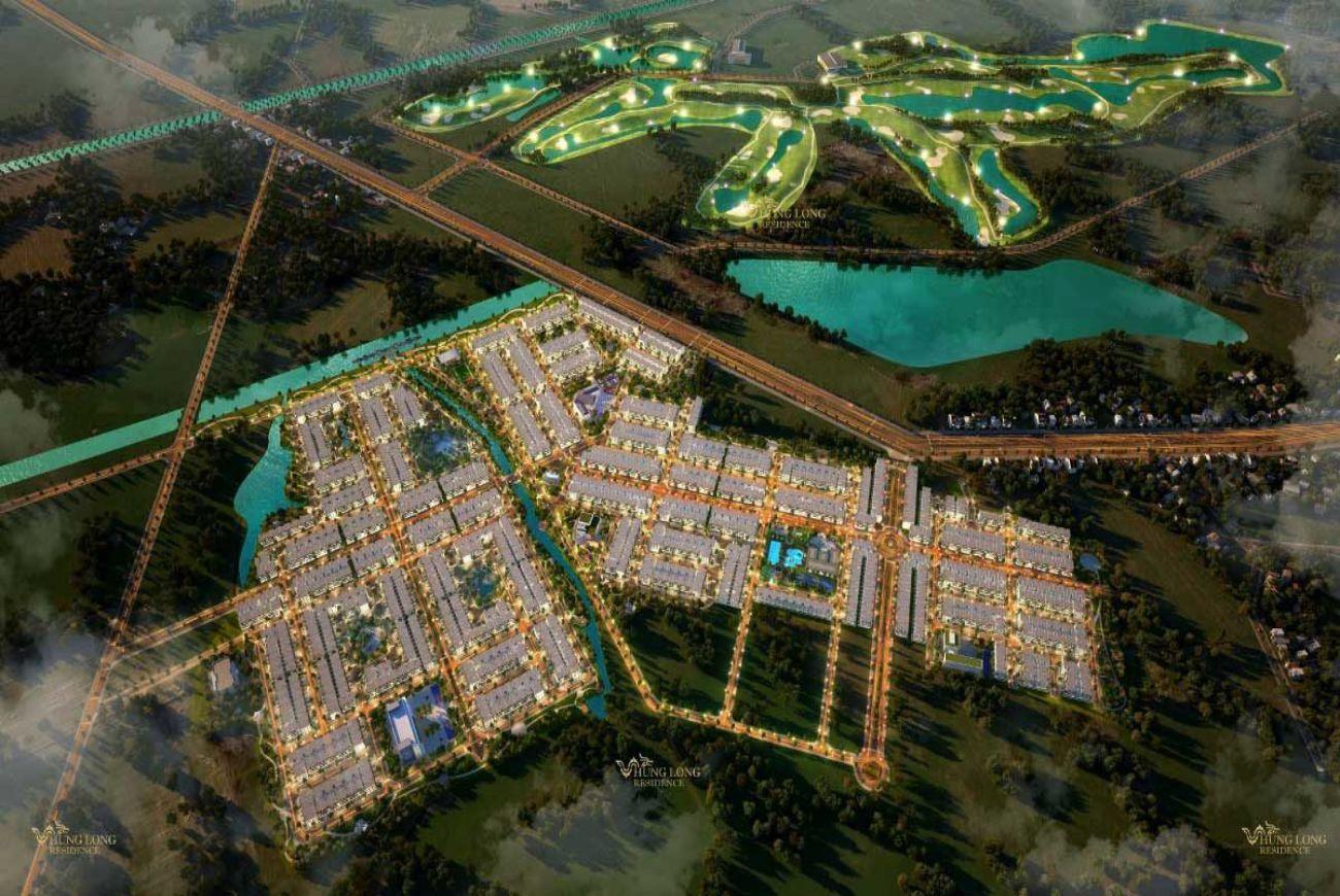 Quy mô và thông tin chi tiết về Dự án Nhà Phố Hưng Long Residence An.