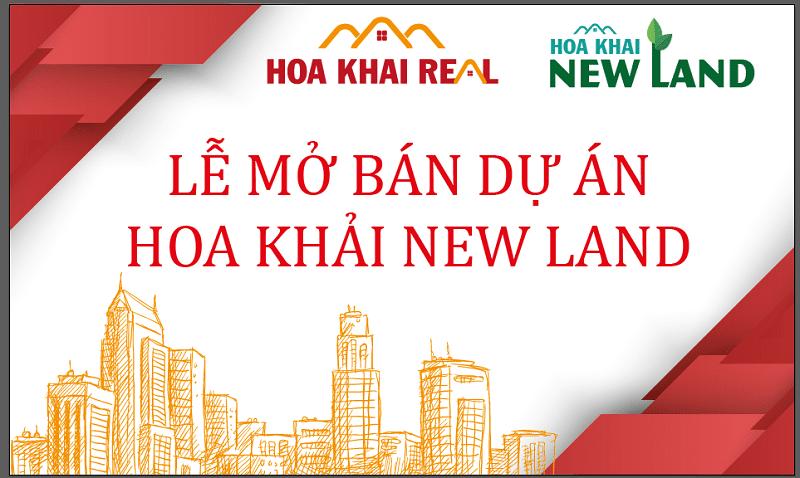 DỰ ÁN HOA KHẢI NEW LAND - ĐỨC HOÀ, LONG AN