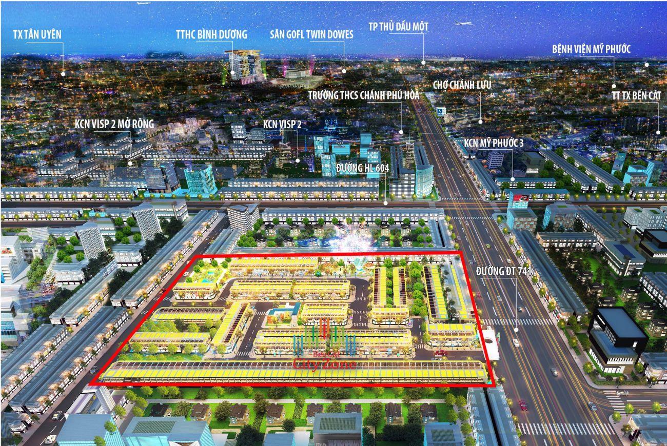 Giới thiệu sơ lượt về Dự Án Tân Phú Mega City 3 Bình Dương