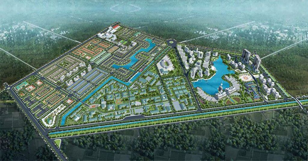 du an everde city duc hoa 1024x536 - Đất nền Everde City Long An