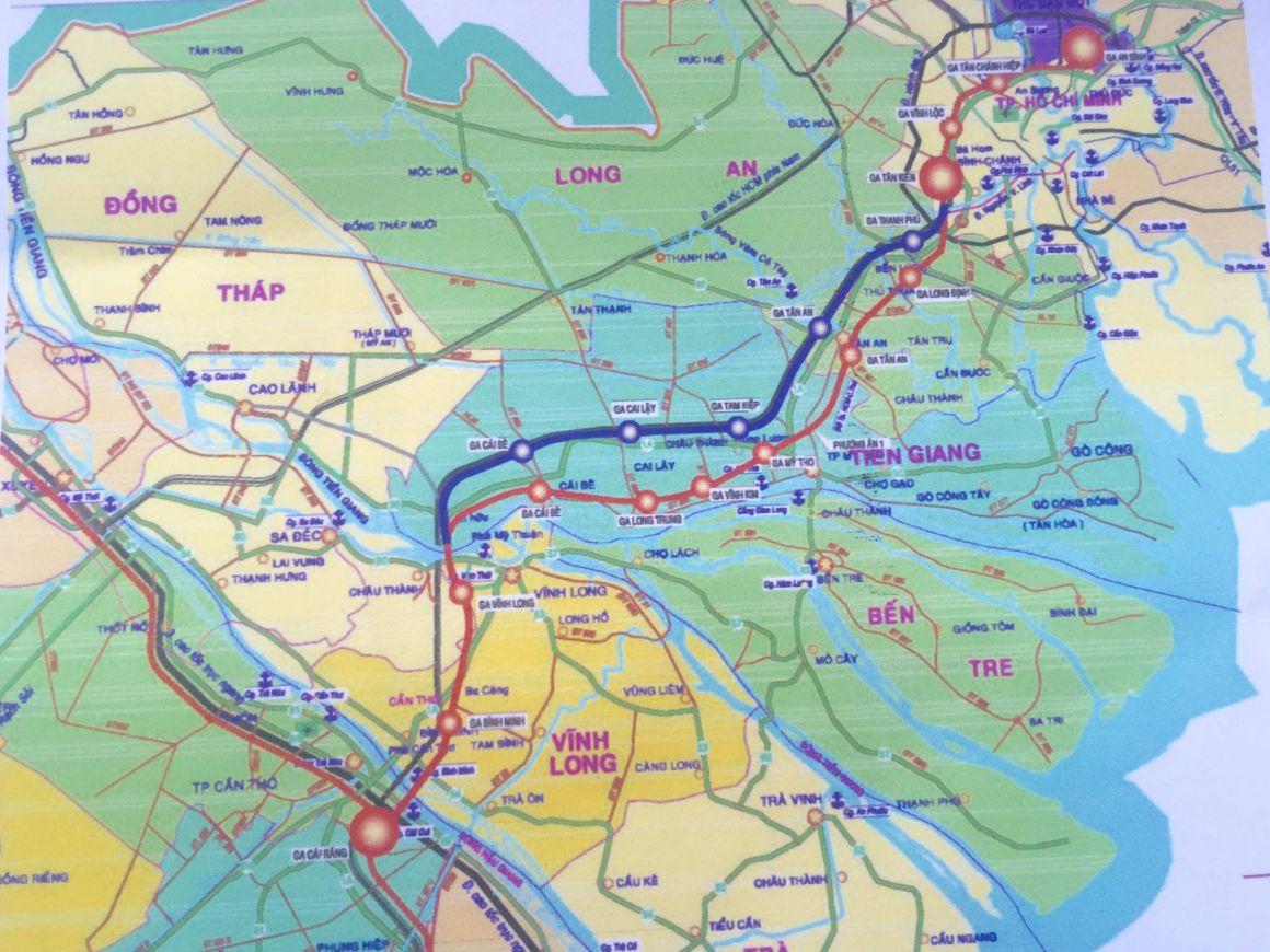 Tuyến đường sắt TP. HCM – Cần Thơ