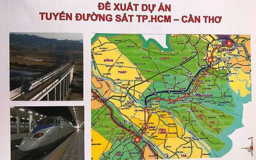 Dự án đường sắt TP HCM – Cần Thơ