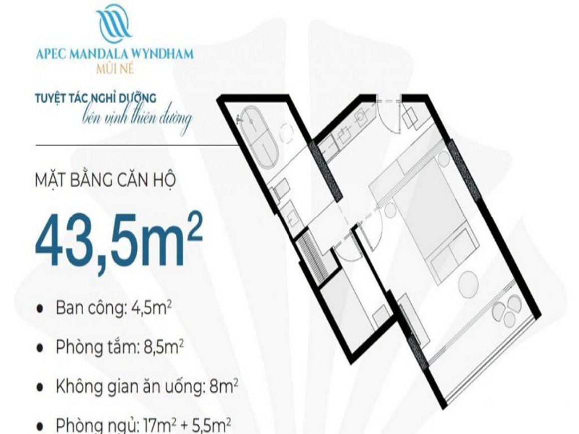 Thiết kế chi tiết nhà phố Apec Mandala Wyndham Mũi Né