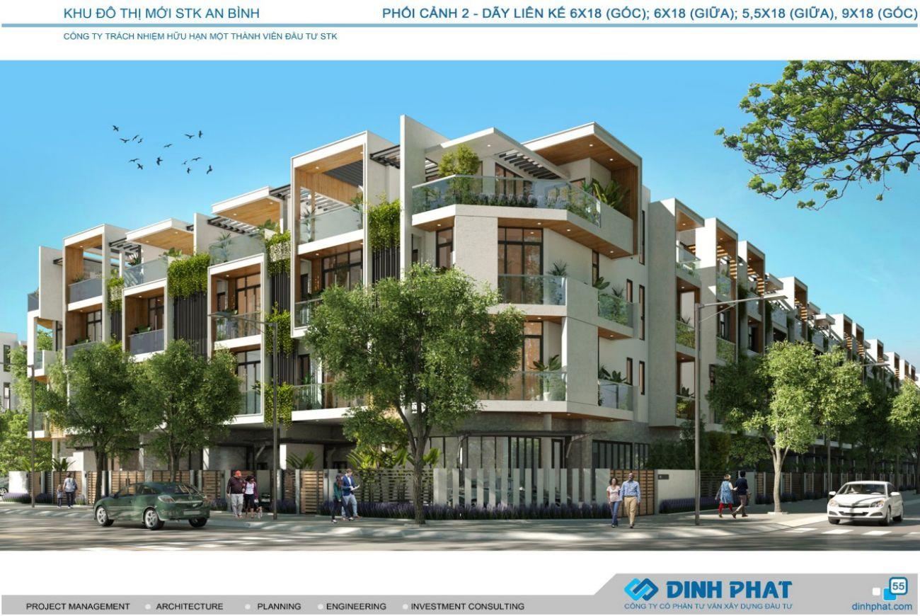 Thiết kế xây dựng nhà phố Stk Cần Thơ