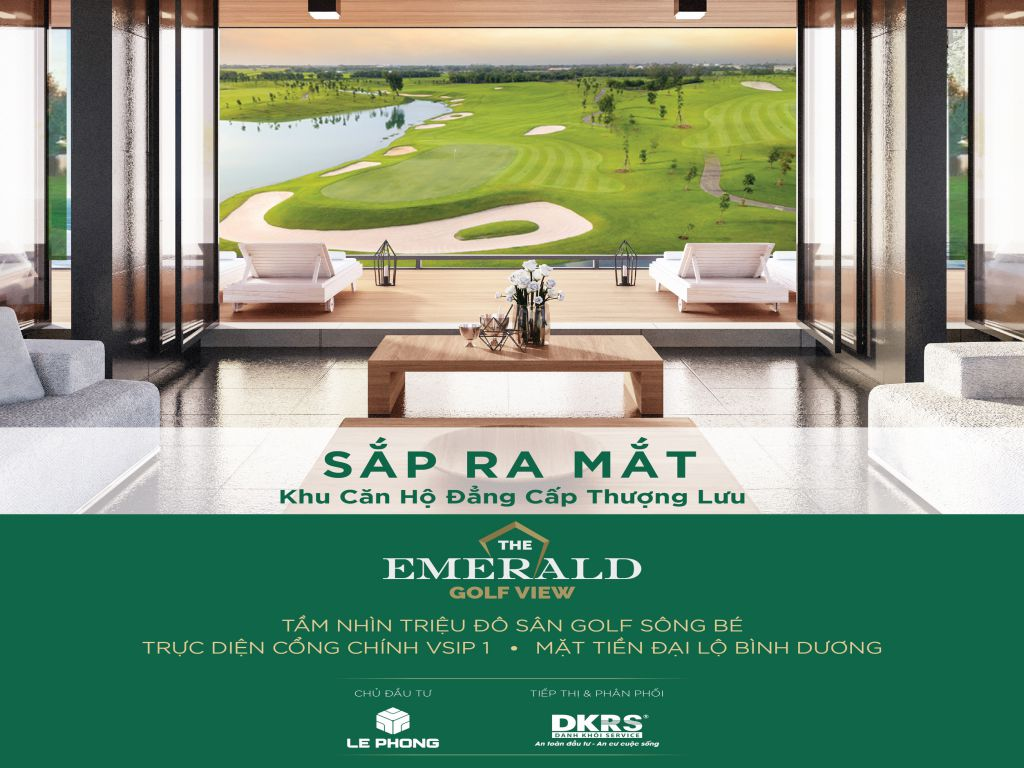 TỔNG QUAN THE EMERALD GOLF VIEW