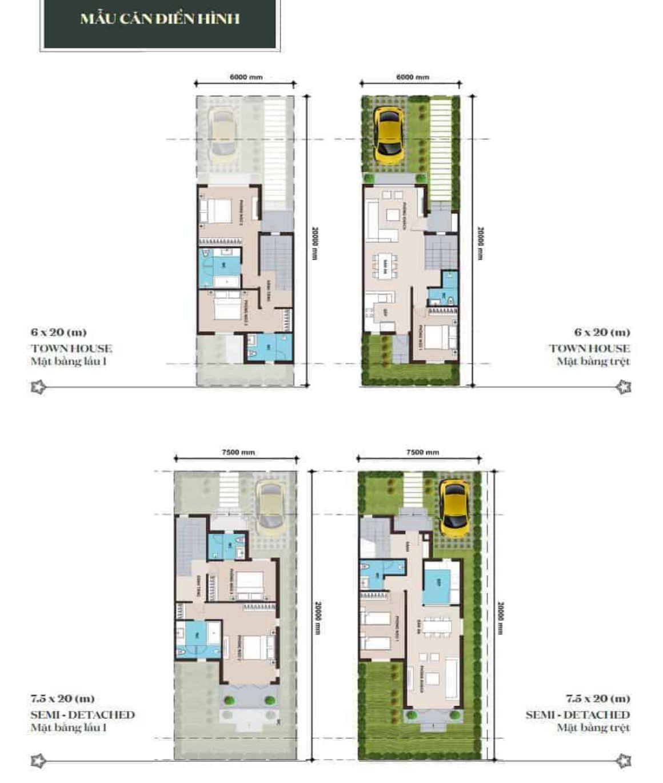 Thiết kế chi tiết nhà phố Novaworld Phan Thiết