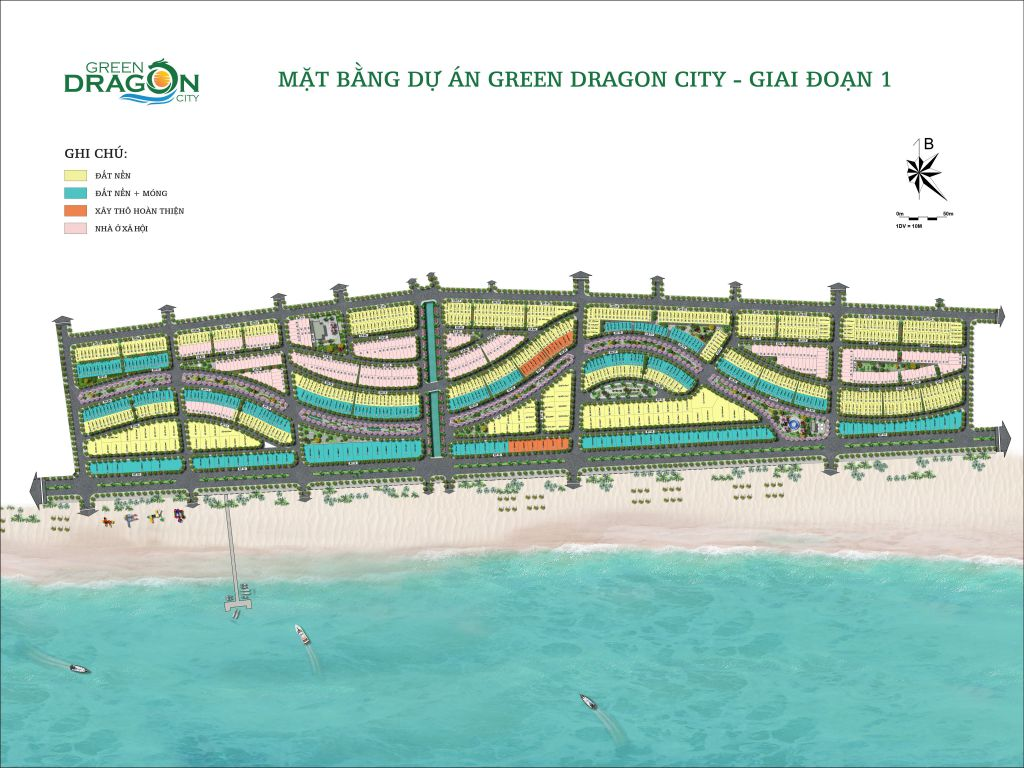 MẶT BẰNG GREEN DRAGON CITY