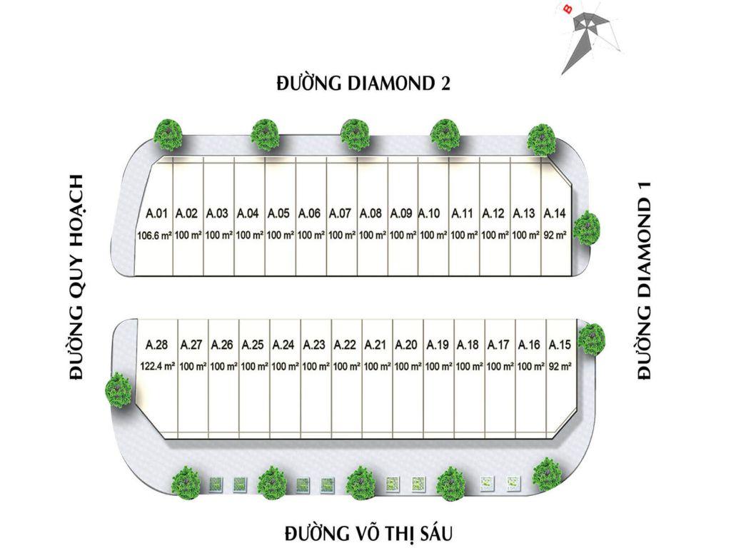 THIẾT KẾ DIAMOND CENTRAL BIÊN HÒA ĐỒNG NAI