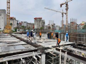 Tiến độ dự án Feliz Homes Hoàng Mai Tháng 10/2020