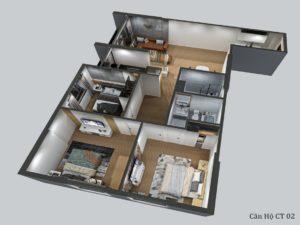 Thiết kế chung cư feliz homes hoàng mai có gì nổi bật?