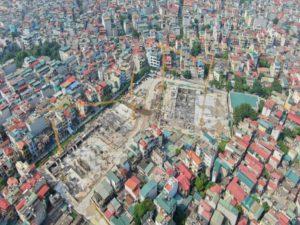 Tiến độ dự án Feliz Homes Hoàng Mai Tháng 11/2020