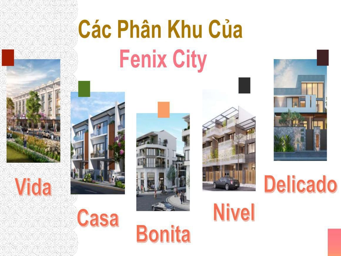 MẶT BẰNG CHI TIẾT FENIX CITY HẬU GIANG