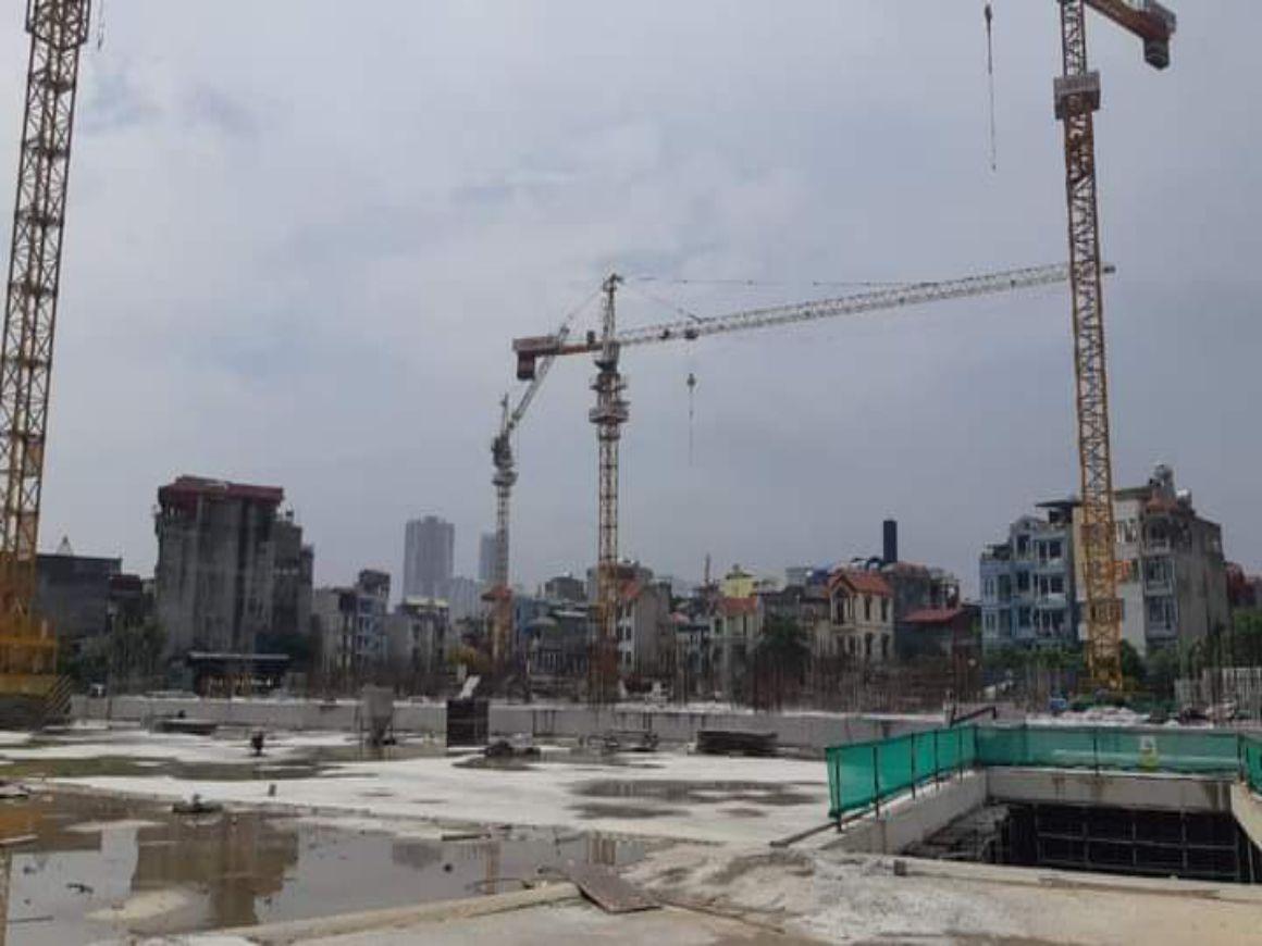 Tiến độ dự án Feliz Homes Hoàng Mai 23/10/2020