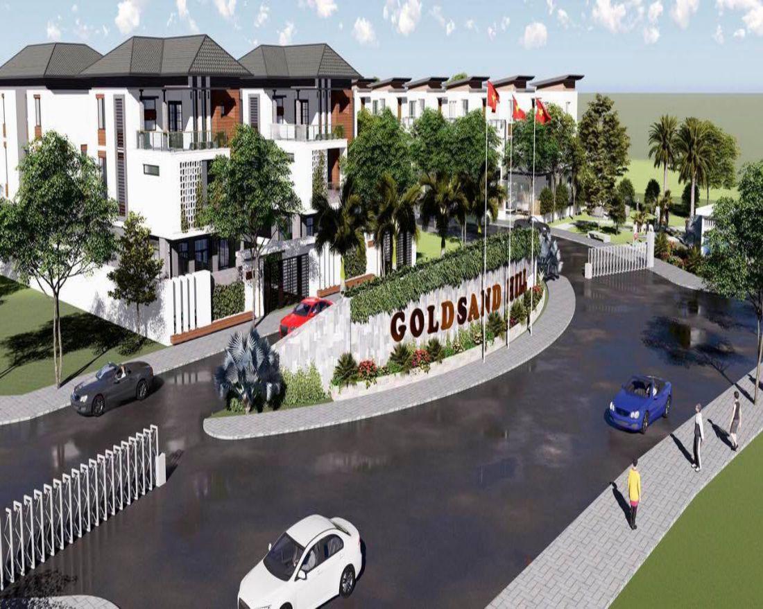 Phối cảnh dự án Goldsand Hill Villa Mũi Né