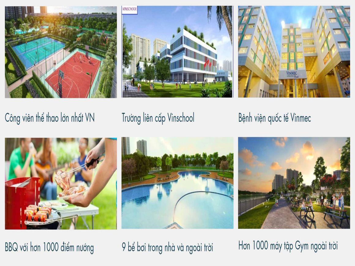 Tiện ích đẳng cấp của dự án Vinhomes Dream City Hưng Yên