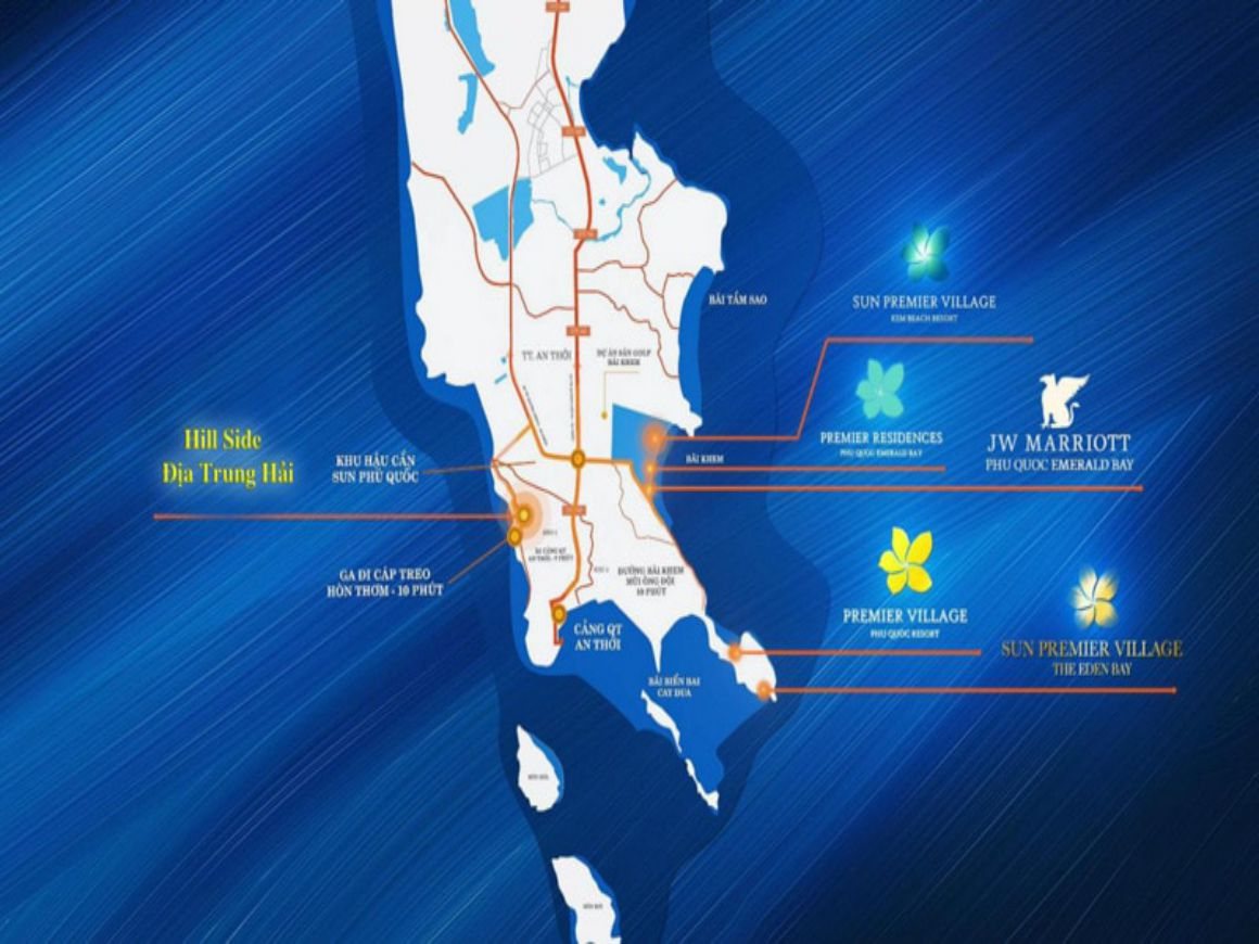 ĐỊA CHỈ VỊ TRÍ CHÍNH XÁC SUN GRAND CITY HILLSIDE RESIDENCE PHÚ QUỐC