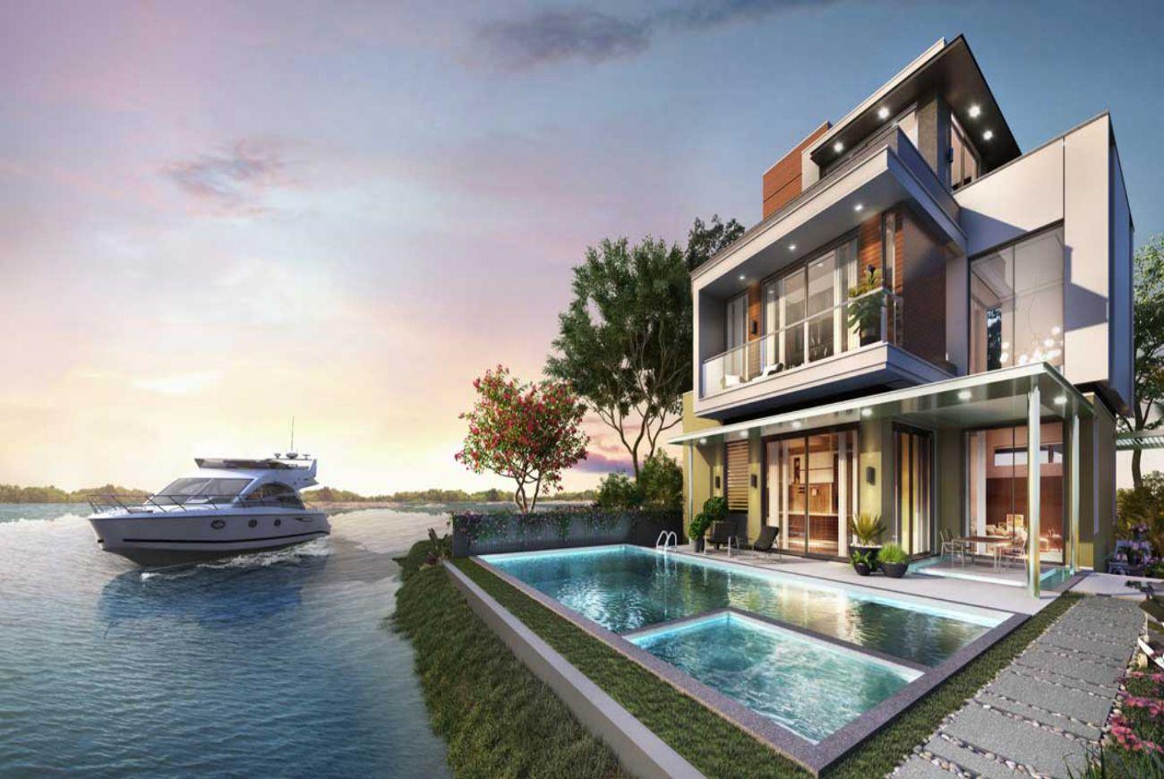 Thiết kế chi tiết nhà phố Novaworld Lâm Đồng Đà Lạt