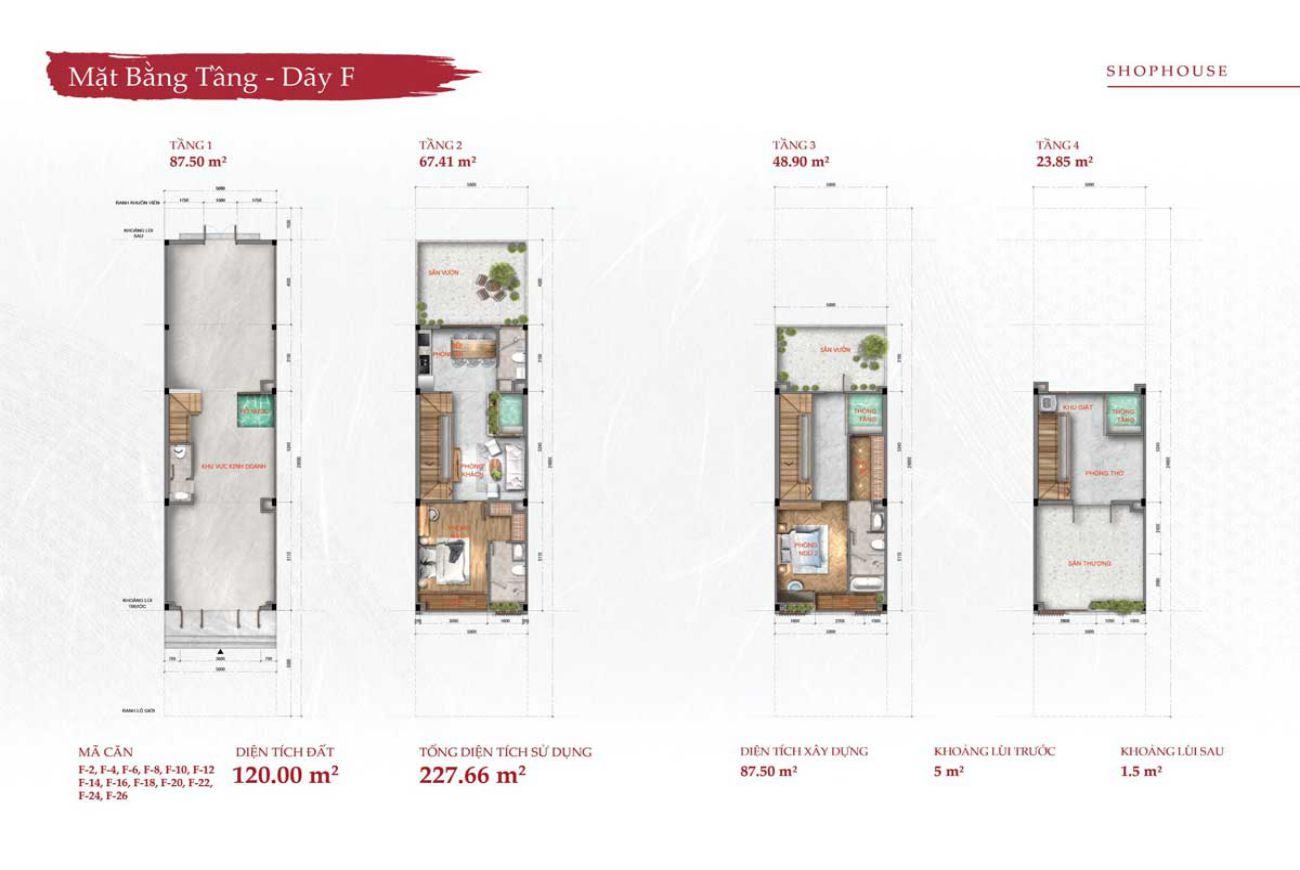 Thiết kế chi tiết nhà phố Takara Residence Bình Dương