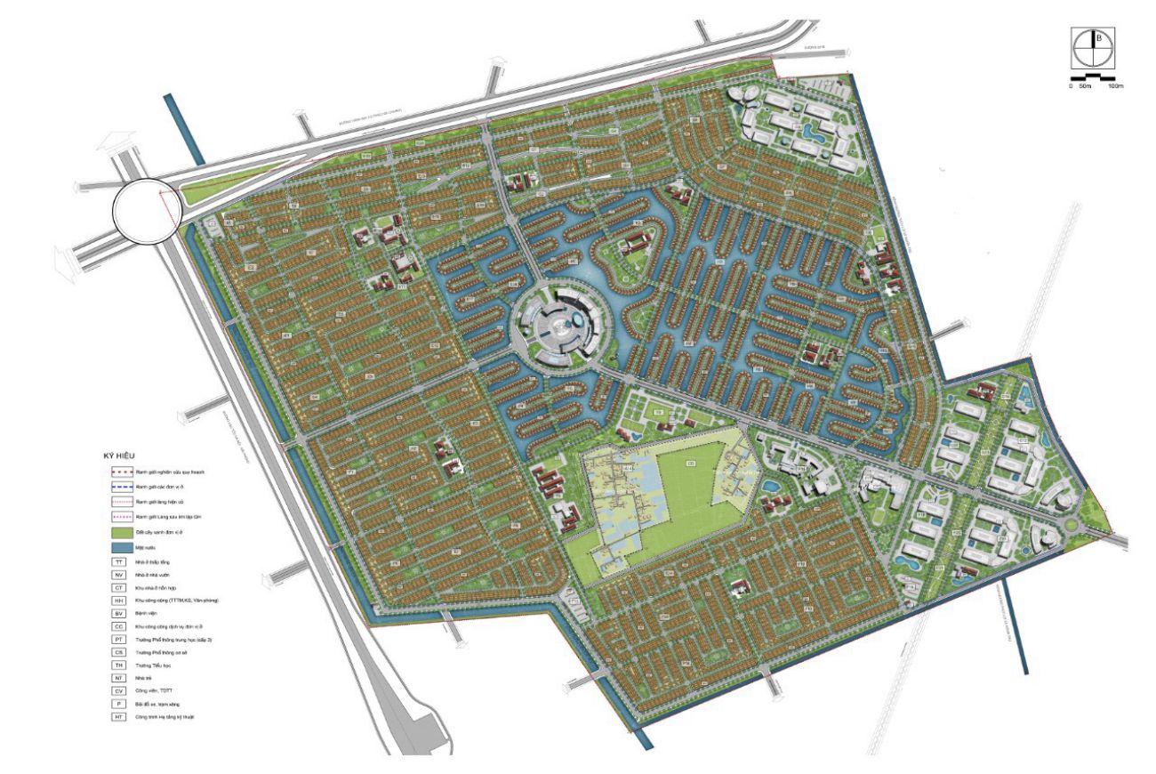Mặt bằng chi tiết dự án Vinhomes Dream City Hưng Yên