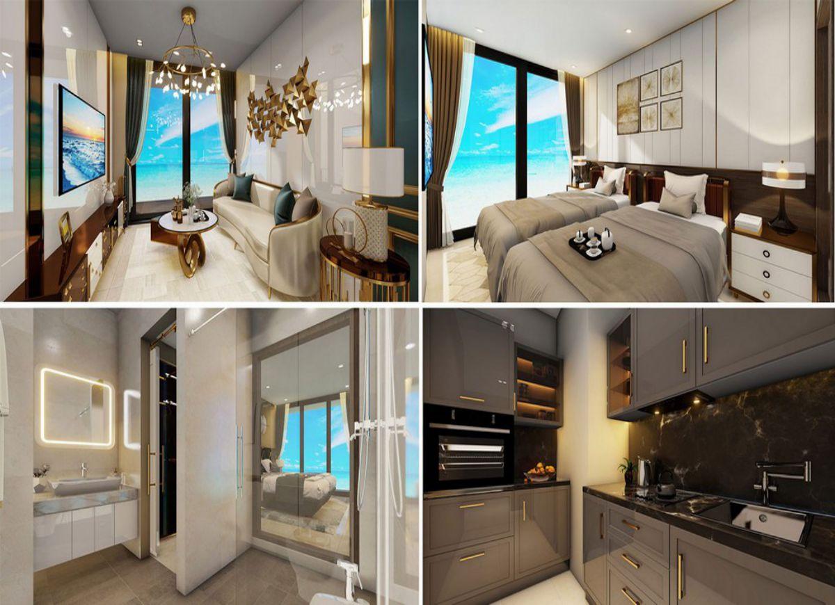 Thiết kế chi tiết chung cư Takashi Ocean Suite Kỳ Co Quy Nhơn