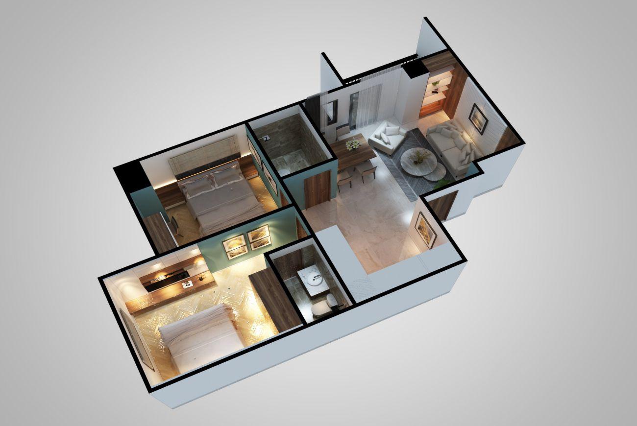 Thiết kế chi tiết của Dự án Dream House Cần Thơ