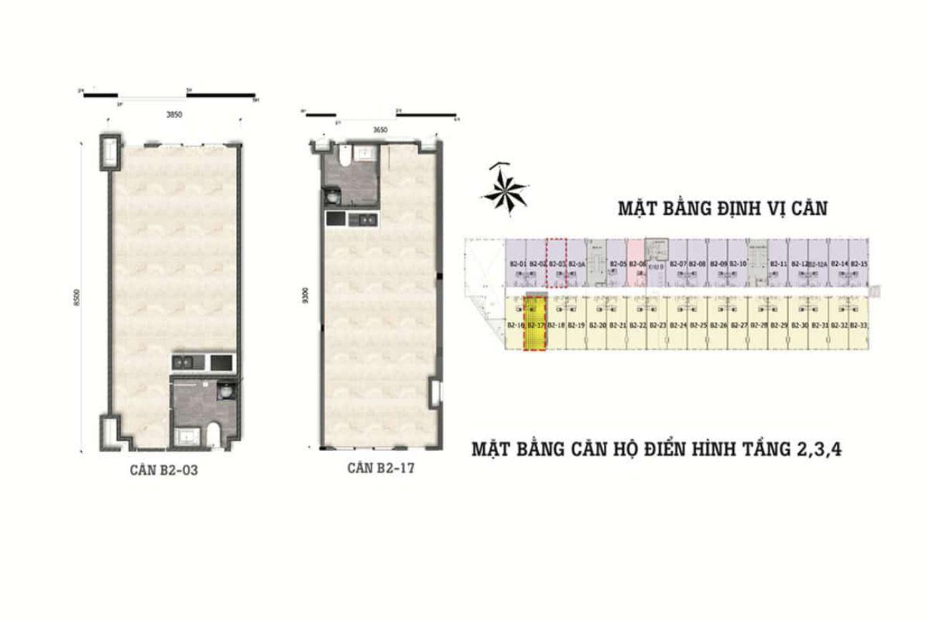 Thiết kế chi tiết chung cư Diyas Sky Tân Bình