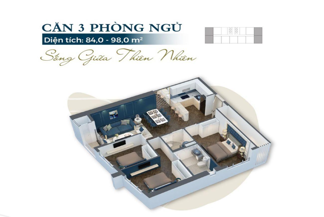 Thiết kế chi tiết chung cư The Sailing Quy Nhơn