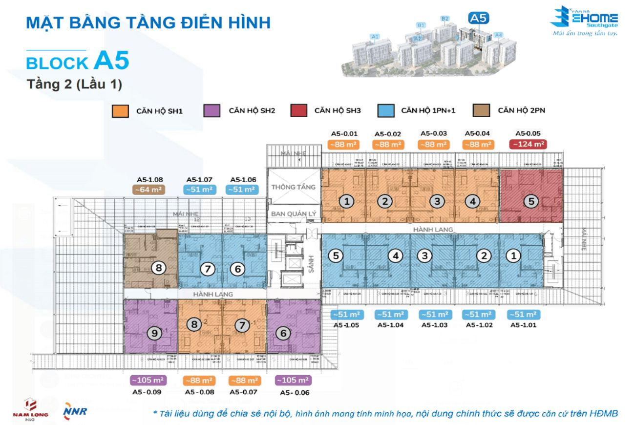Thiết kế Ehome Southgate Long An